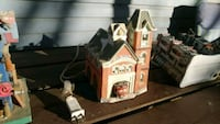 brown and white wooden house miniature Hanover