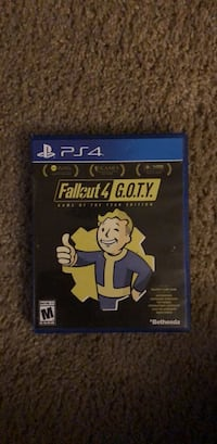 fallout 4 goty edition ps4 North Chesterfield, 23234