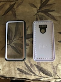 two black and white smartphone cases Brick, 08723