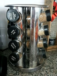 Unused spice rack