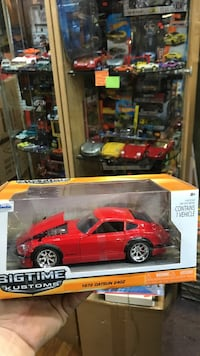red Big Time kustoms scale model pack