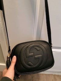Gucci Soho Pebbled Black Crossbody NEW Calgary