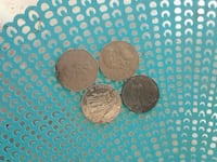 three round silver-colored coins Bakersfield, 93306