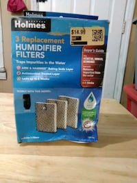 3 replacement humidifier filters