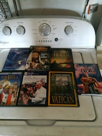 Lot of seven religious DVDs Rancho Cucamonga, 91739