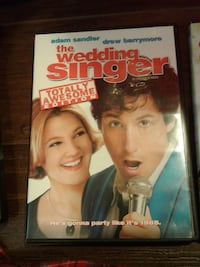 The Wedding Singer DVD case