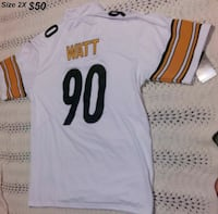 Steelers size 2X jersey