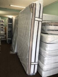 white and gray bed mattress Baltimore, 21222