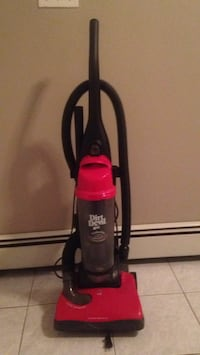 red and black Dirt Devil upright vacuum cleaner Burnaby, V5G 2P8