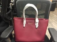 Women's pink leather tote bag Kennewick, 99336