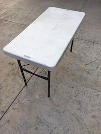 Lifetime foldable work table Los Angeles, 91601
