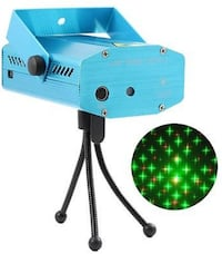 Hot R&G LED Super Mini Projector DJ Disco Laser Lighting Stage Light Party Show