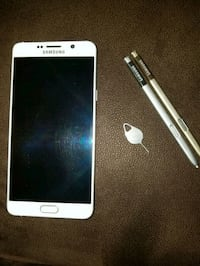 white Samsung Galaxy Note 5 (T-Mobile) Moreno Valley, 92553