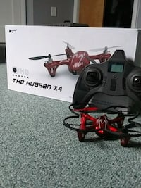 Hubsan drone with hd camera