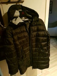brun zip-up boble jakke 5941 km