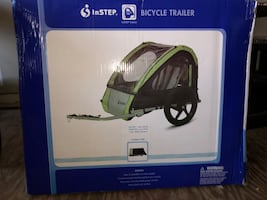 Instep bicycle trailer