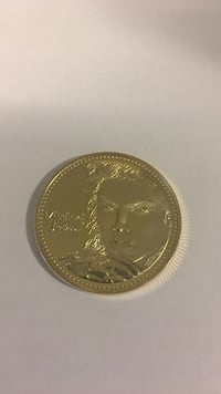 Michael Jackson Gold Plated Coin Myrtle Beach, 29579