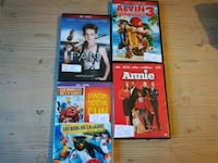 quatre boites de films DVD assorties Pavilly, 76570
