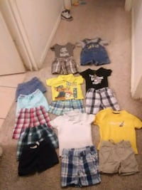 $12 for all of them(12mth summer outfits and short Rio Rancho, 87144