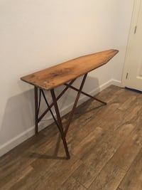 Antique Ironing Board - would be so cute hanging in a laundry room!  Cave Springs, 72718