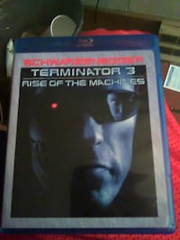 Terminator 3 rise of the machines bluray disc case Somerville, 02145
