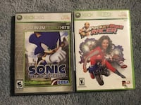 Two xbox 360 games Sonic and Pocket Bike Racer Toronto, M1T 3S1