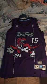 1998 Vince Carter Raptors Jersey Sz L Parma Heights, 44130