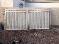 Steel gate 5' wide each side Las Vegas, 89123