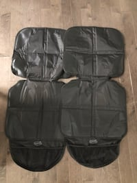 Two car seat protectors (for underneath child car seat) Guelph, N1G 4W4