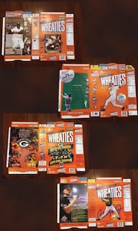 Wheaties press sheets Never folded straight off the press  press sheet