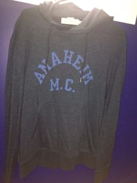 Gray and blue h&m pullover hoodie Toronto, M1E 4A2