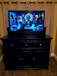 "Sunrise TV Lift Cabinet with 50"" TV"