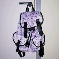 Pastel purple unicorn bag with leather decals Gothenburg, 415 15