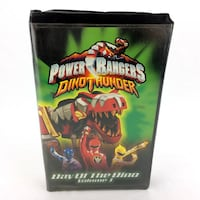 Sabans Sabans Power Rangers Dino Thunder Vol 1 Day Of The VHS Video Tape Mighty Morphin Power Rangers Dino Thunder Vol 1 Day Of The Dino VHS Video Tape Port Colborne