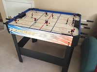 white and black air hockey table Bensenville, 60106