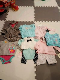 New w tags Baby girls winter clothes 3-9 months  Vienna, 22180