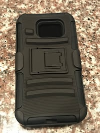 Black Samsung S8 note Case with clip and screen protector  North Lauderdale, 33068