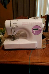 white Singer electric sewing machine Sterling Heights, 48311