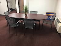 CONFERENCE TABLE WITH CHAIRS Temecula, 92592
