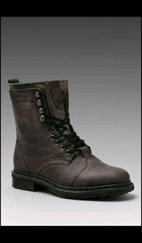 pair of brown leather boots Ajax, L1T 4V4