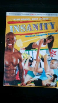 Shaun Ts INSANITY full workout system Indianapolis, 46217