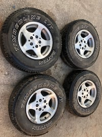 15 inch Jeep tires and wheels  Concord, 28025