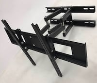 New in box 32 to 65 inches swivel full motion tv television wall mount bracket 120 lbs capacity with hardwares included  Whittier, 90605