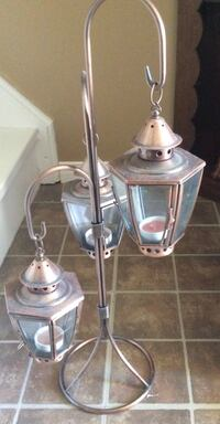 Three tier candle holder