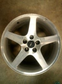 2001 Mustang svt wheels all 4 whole set