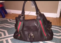 Brown Gucci leather tote bag New York, 11385
