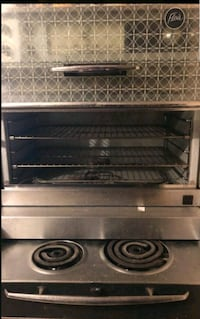 Flair stove and oven....almost perfect condition..