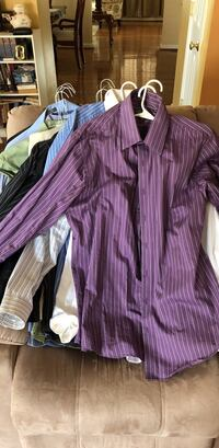 16 Assorted-color dress shirts District Heights, 20747