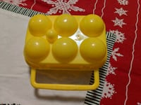Plastic egg carrier-camping supply Berlin