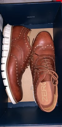 Cole Haan brown leather shoes size 7